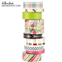 Green & Pink Floral Washi Tape Tube | Hobby Lobby | 1427913