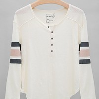 Free People Pointelle Henley Top