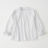 Womens Oxford Popover Shirt | Womens Tops | Abercrombie.com