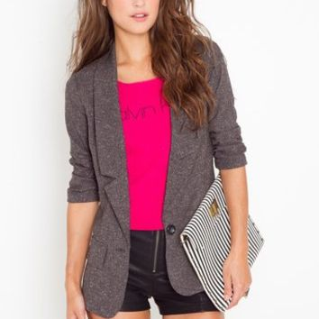 Need For Tweed Blazer in  Clothes Outerwear at Nasty Gal