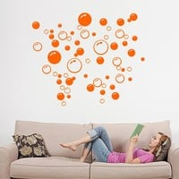 4colors kitchen bathroom Bubble wall sticker removable waterproofing home wall decal PVC wall sticker