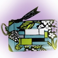 Vera Bradley Zip ID Case in Island Blooms