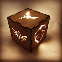 Legend of Zelda Wooden Nightlight