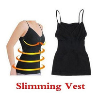 Weight Loss Fat Burning Open-Bust Camisole Slimming Vest Tops For Women = 1933297220