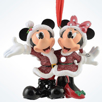 Disney Parks Mickey & Minnie 3D Christmas Ornament New with Tags