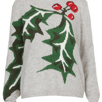 Knitted Holly Jumper