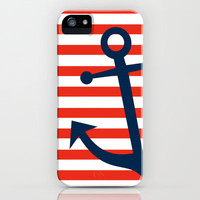 Nautical Anchor iPhone Case by All Is One