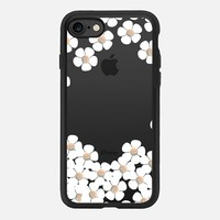GOLD DAISY RAIN iPhone 6 by Monika Strigel iPhone 7 Hülle by Monika Strigel | Casetify