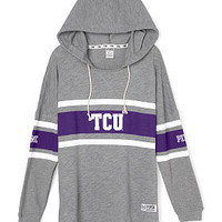 Texas Christian University Varsity Pullover Hoodie - PINK - Victoria's Secret