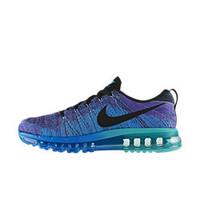 The Nike Flyknit Air Max Men's Running Shoe.