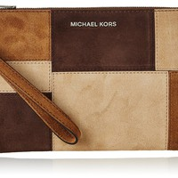 MICHAEL Michael Kors Astor Large Zip Clutch
