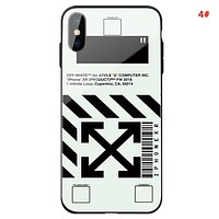 Off White New fashion letter arrow print couple protective cover phone case 4#