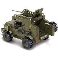 Army Jeep - LEGO Compatible