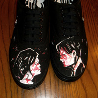 My Chemical Romance Shoes || Hand Painted