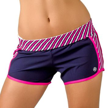 """Stripe Down"" Shorts"