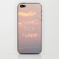 Happily Ever After iPhone & iPod Skin by Revital Naumovsky