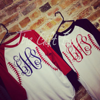 Baseball Jersey with Monogram