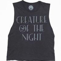 Creature of the Night Men's Tank - Design by Heather Gabel