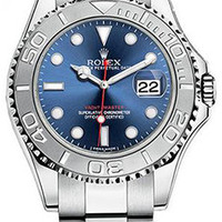 Rolex - Yacht Master 40 - Stainless steel and Platinum