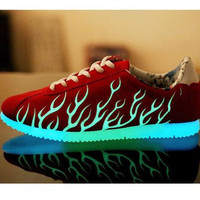 Mens Cool Flames Sneakers