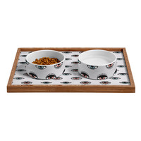 Wesley Bird His N Hers Pet Bowl and Tray