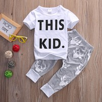 Boy This Kid Clothing Set