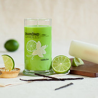 Vanilla Lime Candle - All Natural Soy Candles By Diamond Candles