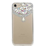 Bling Case for Iphone 8 X Cover Cases for Iphone 7 6 6s Women Diamond Luxury Rhinestone Cell Phone Covers