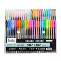 48 Packs Color Gel Ink Pens,The Best Gel Pens Set for Adult Coloring Books