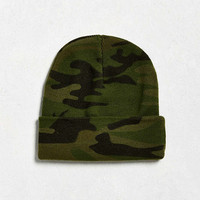 UO Camo Beanie - Urban Outfitters