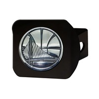 FANMATS Golden State Warriors Black Hitch Cover - New!