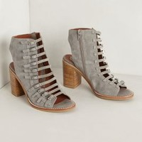Suede Cadet Booties by Jeffrey Campbell