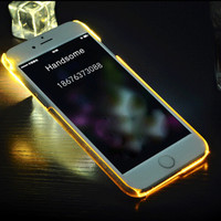 Yellow Light Up Case For iPhone 5s 6 6s Plus Gift 06