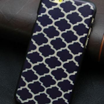 Blue And White Patterned Phone Case Iphone 6
