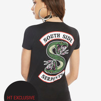 Riverdale Southside Serpents Girls T-Shirt Hot Topic Exclusive