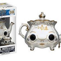 Funko POP Disney: Beauty & The Beast Movie - Mrs. Potts & Chip Vinyl Figure