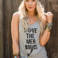 Save The Mermaids Graphic Tank