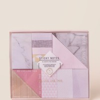 We Live Like This Sticky Notes Set