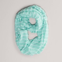 AEO Striped Knit Loop Scarf | American Eagle Outfitters