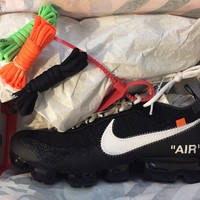 Off white x Nike Vapormax in size Uk 11 US 12 *in hand*