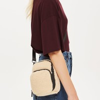 Storm Borg Faux Fur Cross Body Bag | Topshop