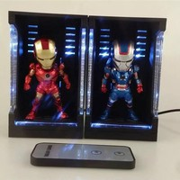 Animation LED Figure Display Box Showcase Protection For Figurine  PVC Action Figure