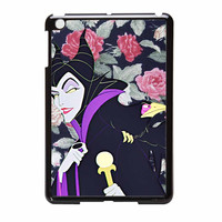 Malficient Disney Floral iPad Mini Case