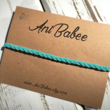 Boho style headband, baby headband, halo crown headband, teal headband, teen headband, braid headband, girls headband