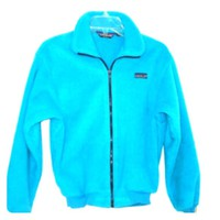 Vtg Retro Patagonia Fleece Jacket Ski Snow Teal Xs