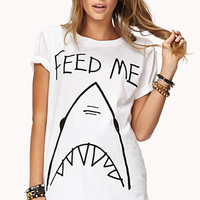 Hungry Shark Graphic Tee