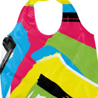 Abstract 1 Eco Bag created by PoseManikin | Print All Over Me