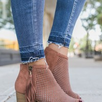 Renegade Booties - Cinnamon