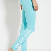 Active Do It Today Leggings | Forever 21 - 2000151024