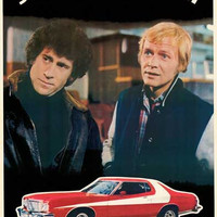 Starsky and Hutch 1976 TV Show Poster 23x35